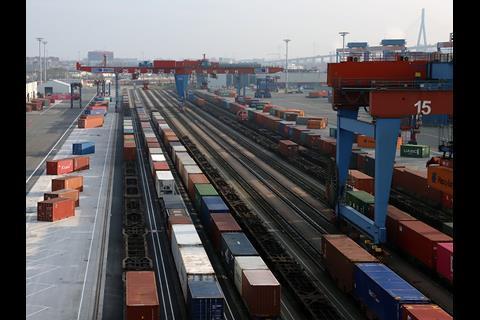 Rail Expansion At Hamburg Container Terminal News